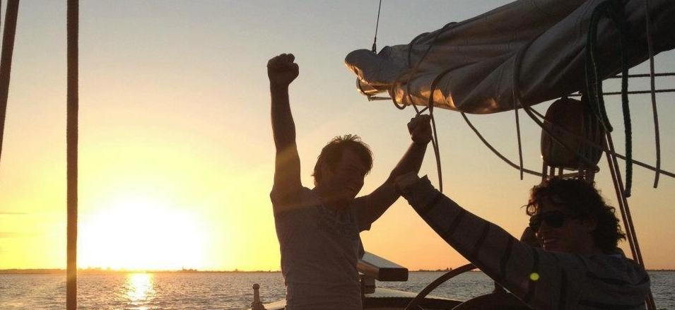 zeilschip huren met schipper Markermeer Muiden